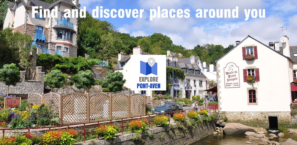 places to visit in pont-aven